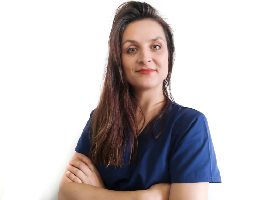 French nurse in London - Infirmière française à Londres